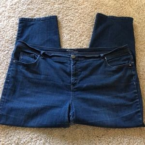 Style & Co tapered leg jeans